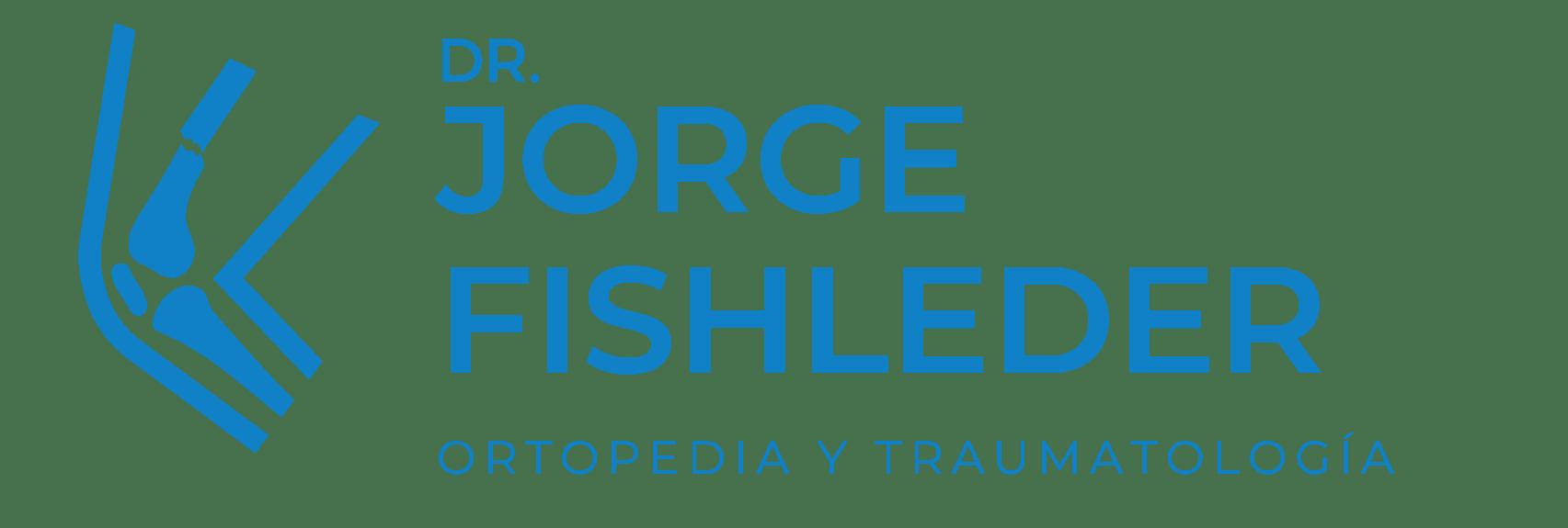 Logo Dr. Jorge Fishleder blue